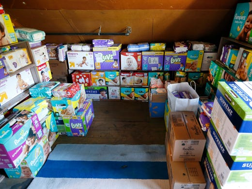 Dippers And Supplies For Babies Donated To The