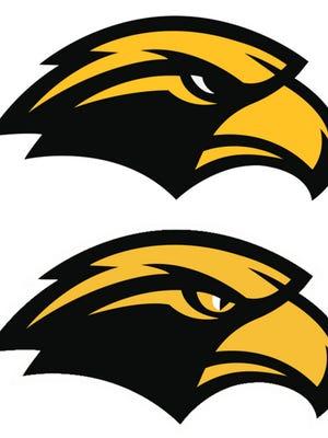 "Above: The ""traditional eye"" logo  Below: The ""dynamic eye"" logo"