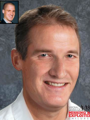 This age-progression image shows what Knapp might have looked like years after his disappearance in April 1998.