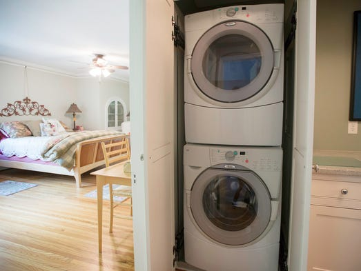 1928 tudor was once a summer home for the rich for Second floor laundry