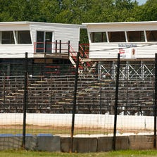 CANANDAIGUA, NY - AUGUST 10:  The grandstands sit empty at the Canandaigua Motorsports Park on August 10, 2014 in Canandaigua, New York. NASCAR Sprint Cup driver, Tony Stewart hit and killed sprint car driver Kevin Ward Jr. during a dirt track race August 9, after Ward Jr. had exited his car. StewartÕs team announced he will not drive in the Cheez-It 355 At The Glen race.  (Photo by Jared Wickerham/Getty Images)