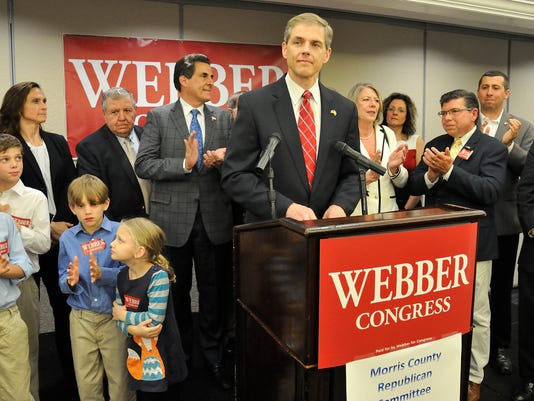 State Assemblyman Jay Webber seeks Republican nomination in the 11th Congressional District
