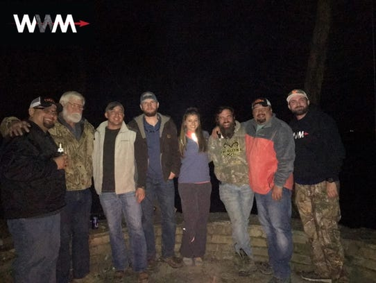 The Whitetail Widow Makers on a duck hunt with Heroes