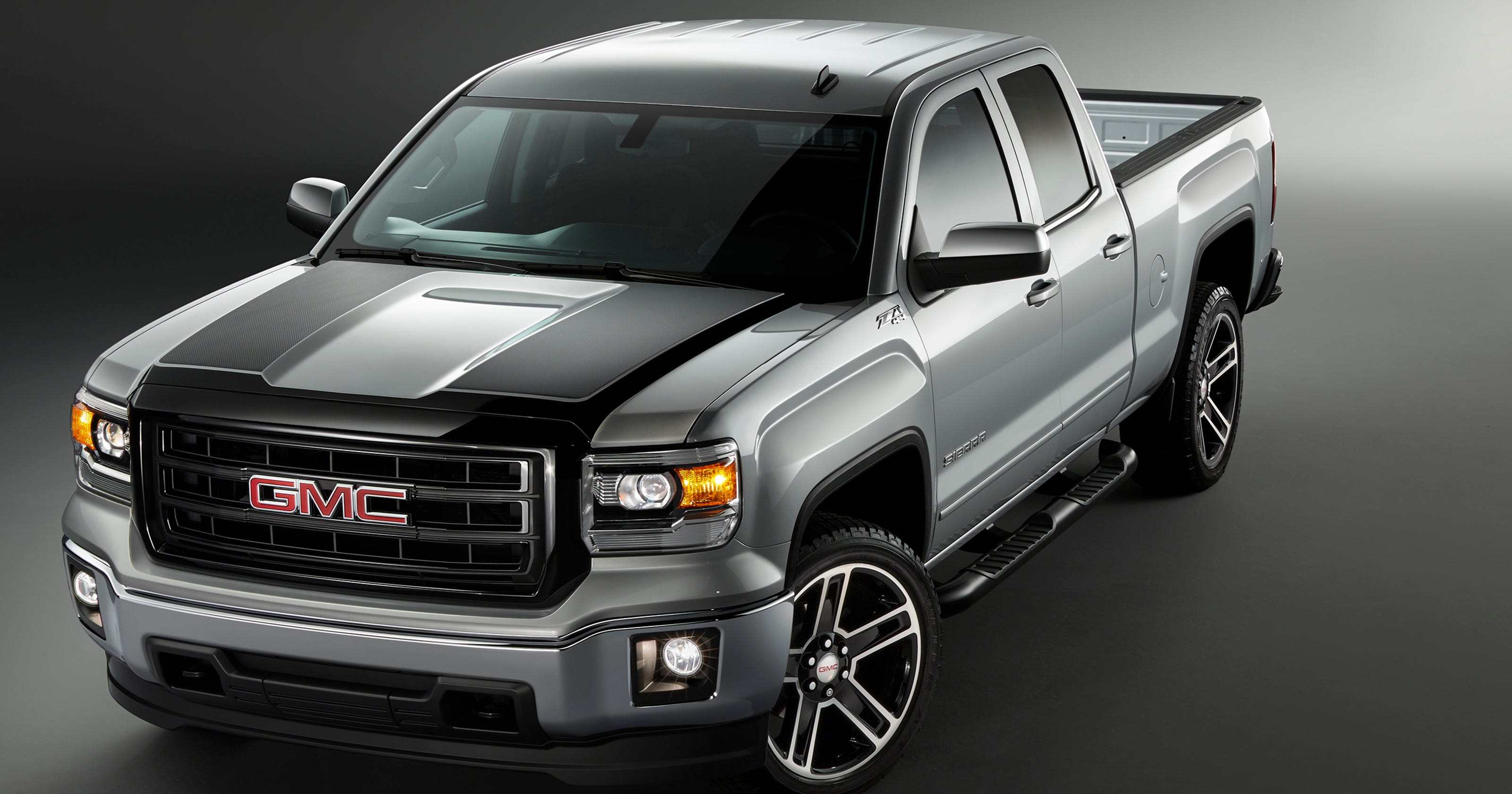 GMC creates 'carbon edition' of Sierra pickup