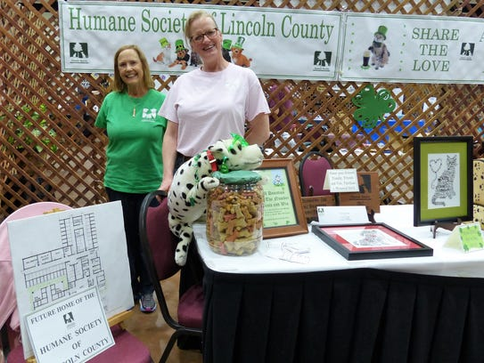 Volunteers with the Humane Society of Lincoln County