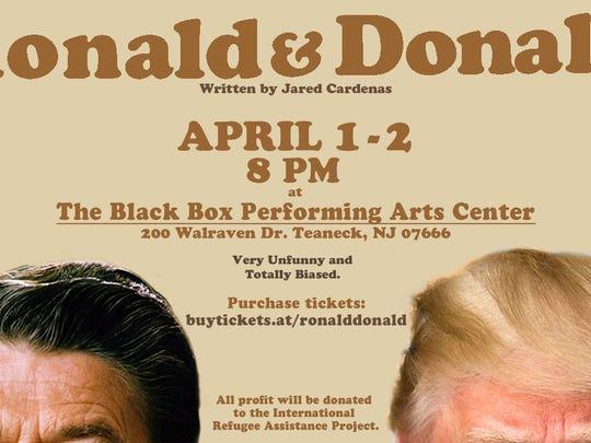 """""""Ronald Donald"""" poster."""