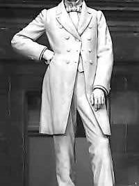 Marble sculpture of John Gorrie by C. Adrian Pillars, 1914, National Statuary Hall, U.S. Capitol, Washington, D.C.