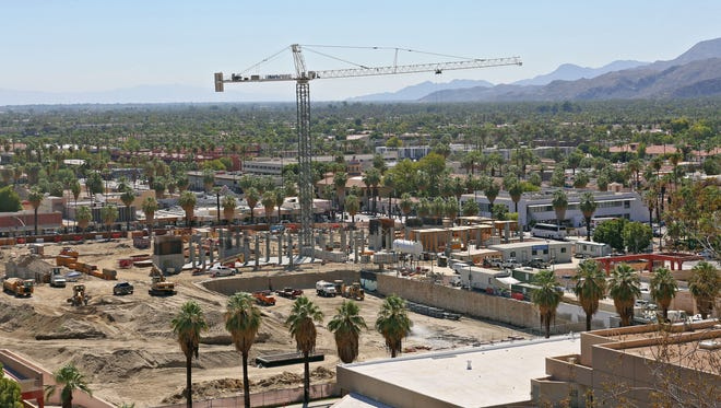The Palm Springs downtown revitalization project.