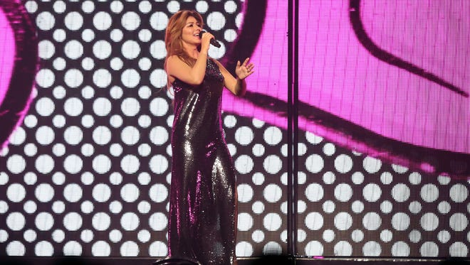 Shania Twain will perform at Talking Stick Resort Arena on Monday, July 30, 2018.