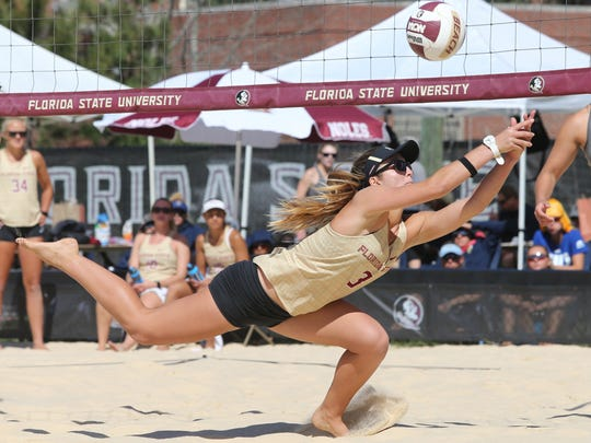 Sophomore Sara Putt is 17-0 this season with her partner Macy Jerger. The women's dominance in this sport and others has spurred FSU to ponder what may be the next women's sport on the horizon