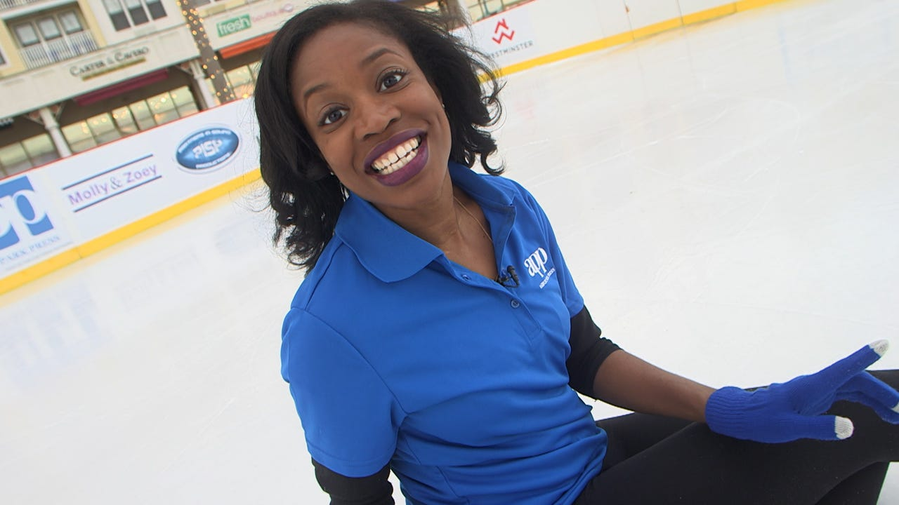 APP's Jamila Robinson demonstrates five key lessons for ice skating beginners.