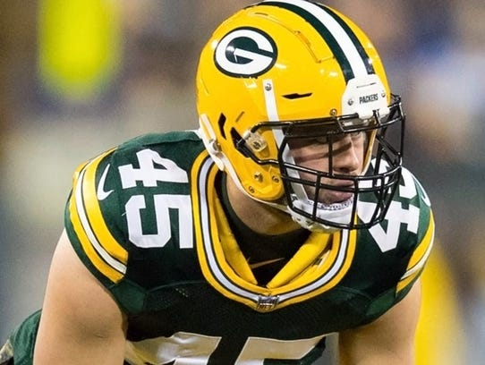 Green Bay Packers Vince Biegel grew up on a cranberry