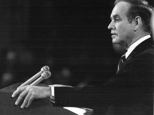 From 1983: Iowa Gov. Robert Ray delivers his final State of the State address.