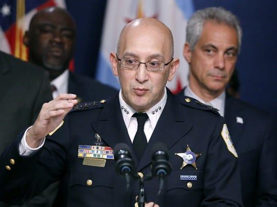 Chicago Police interim Superintendent John Escalante
