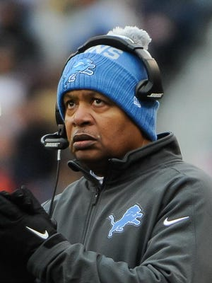 Jim Caldwell held the Lions together after a 1-7 start.