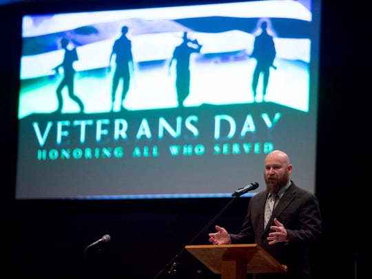 GCA teacher and US Army/Ohio National Guard Staff Sergeant,