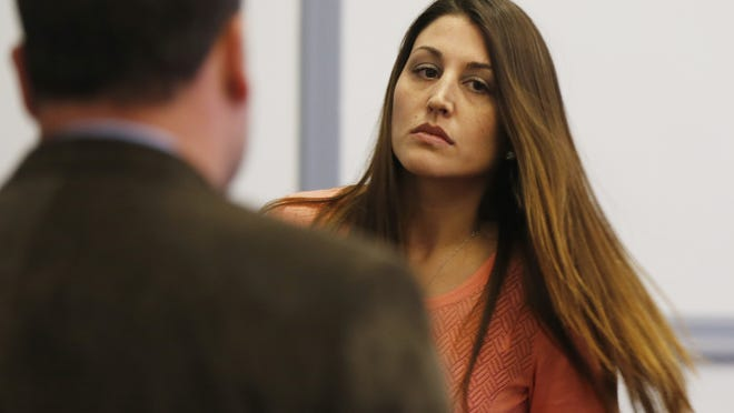 Nicole McDonough, 32, of Mount Olive, is facing three official misconduct charges for allegedly engaging in improper relationships with three male students while employed as a teacher at Mendham High School.