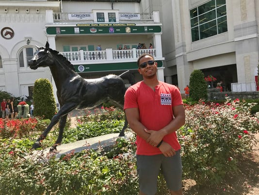 An afternoon at Churchill Downs