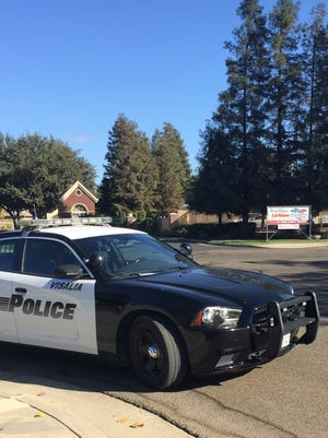 Police are searching for a man they believe opened fire near Central Valley Christian School.
