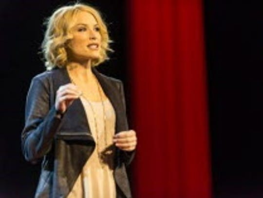 Tara Conner, Miss USA 2006, gives a TEDx talk in  Reno