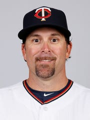 Doug Mientkiewicz in 2015, when he played for the Minnesota
