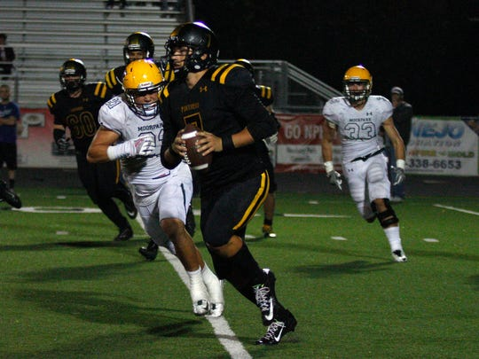 Newbury Park quarterback Cameron Rising was named the Offensive Back of the Year for the Camino League.