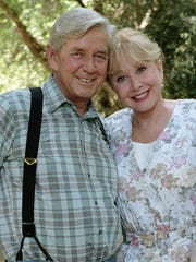 Ralph Waite and Michael Learned played John and Olivia Walton on the classic series 'The Waltons.' Waite died Thursday at 85.