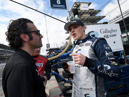 Chip Ganassi Racing IndyCar driver Max Chilton (8)