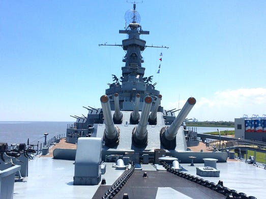 Alabama: Battleship USS Alabama. Top bookable experience: