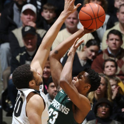 Purdue takes on Michigan State in Big Ten action