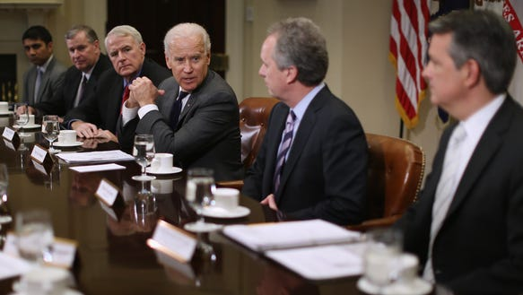 Ballard with Biden