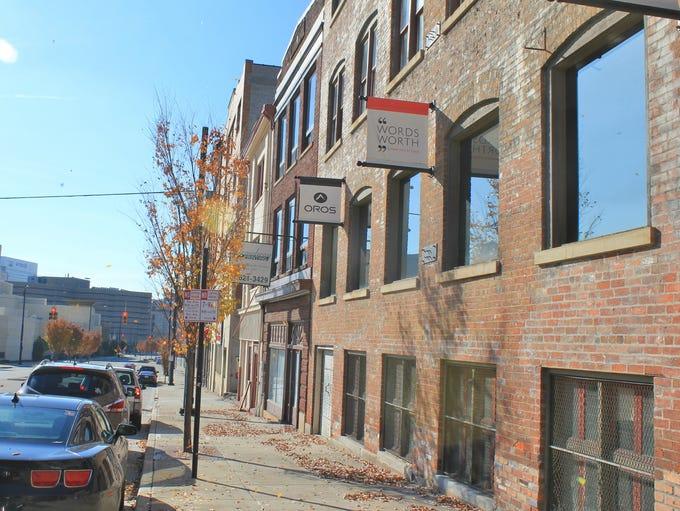 Oros is located in the Cincinnati neighborhood of Pendleton,