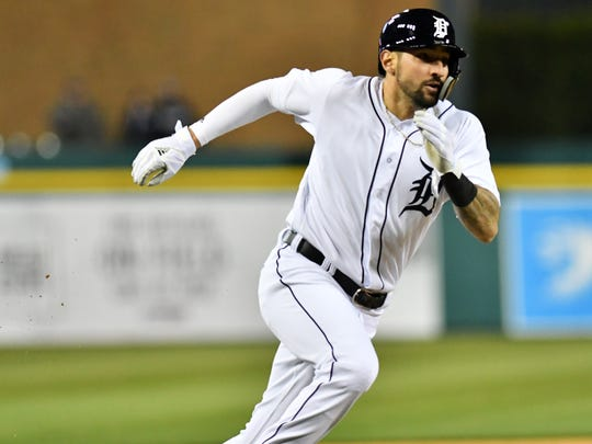 Nick Castellanos leads the Tigers with 41 RBIs this