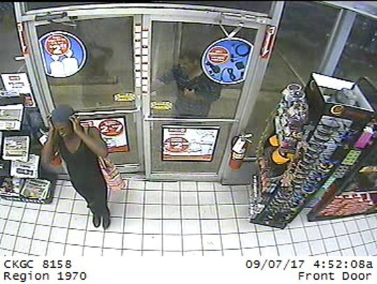 Suspects caught on surveillance wanted for theft of