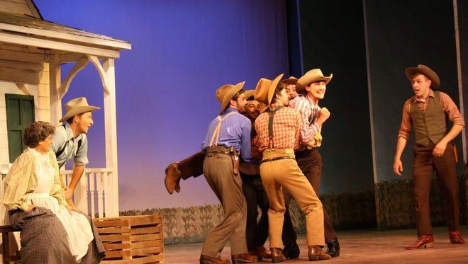 "Tibbits Opera House has a rousing production of ""Oklahoma!"""