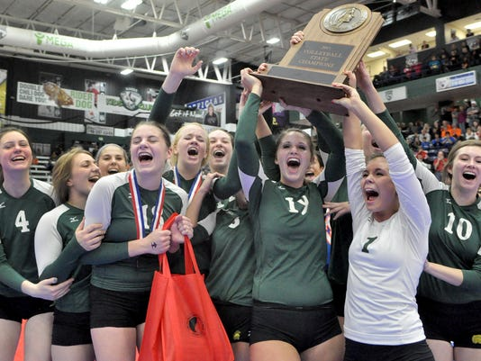 City vs. West State Volleyball Championship