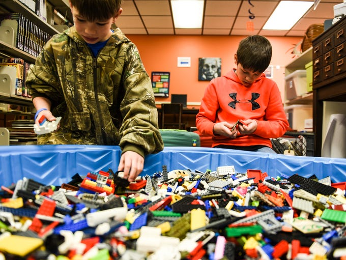 Richland Library's Lego Club held its second annual