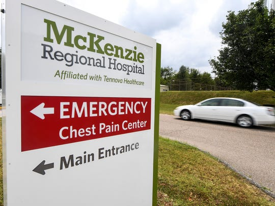 The McKenzie Regional Hospital will close its doors
