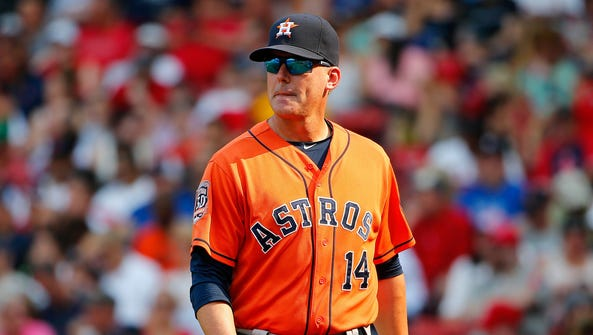 A.J. Hinch led the Astros to a 16-win improvement.