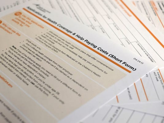 Affordable Care Act application for coverage