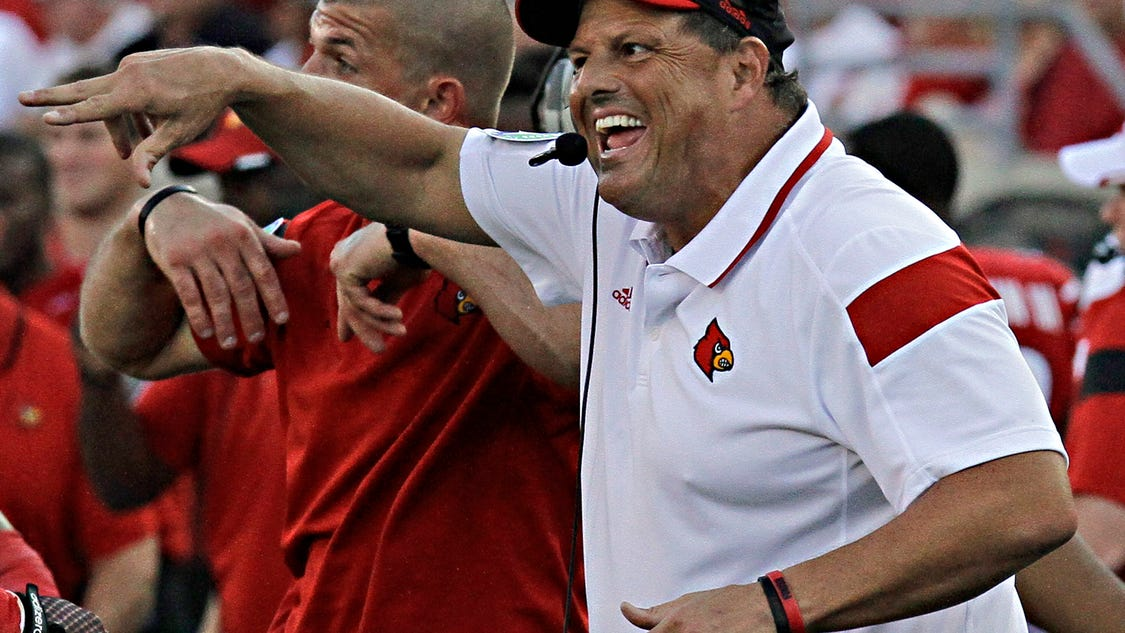 Louisville football assistant coaches rank 19th in nation ...