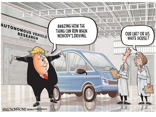 Trump and self-driving cars