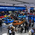 Auto show and downtown Detroit share identical tech-happy future