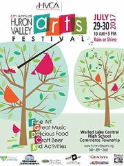 The sixth annual Huron Valley Arts Festival is July