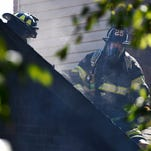 Photos: House and car fire in North Nashville