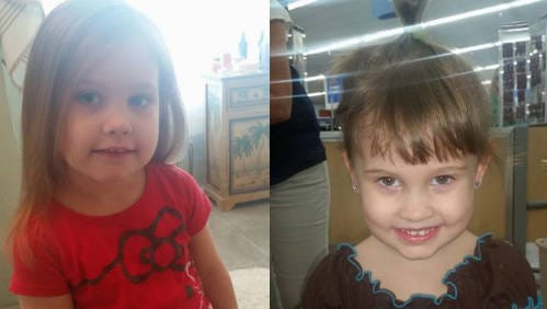 Helena White's parents shared photos of the 4-year-old girl who remains in critical condition.