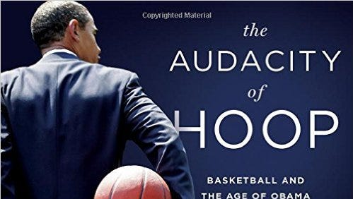 """Author Alexander Wolff will sign and talk about his book, """"The Audacity of Hoop,"""" at a reception Tuesday."""