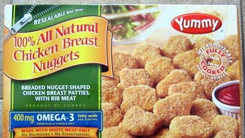 Yummy brand chicken nuggets have been recalled.