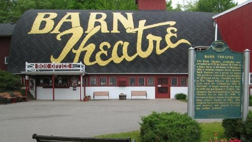 The Barn Theatre in Augusta.