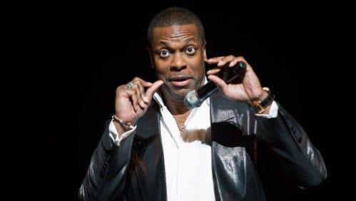 Comedian Chris Tucker returns to the Riverside Theater April 21.